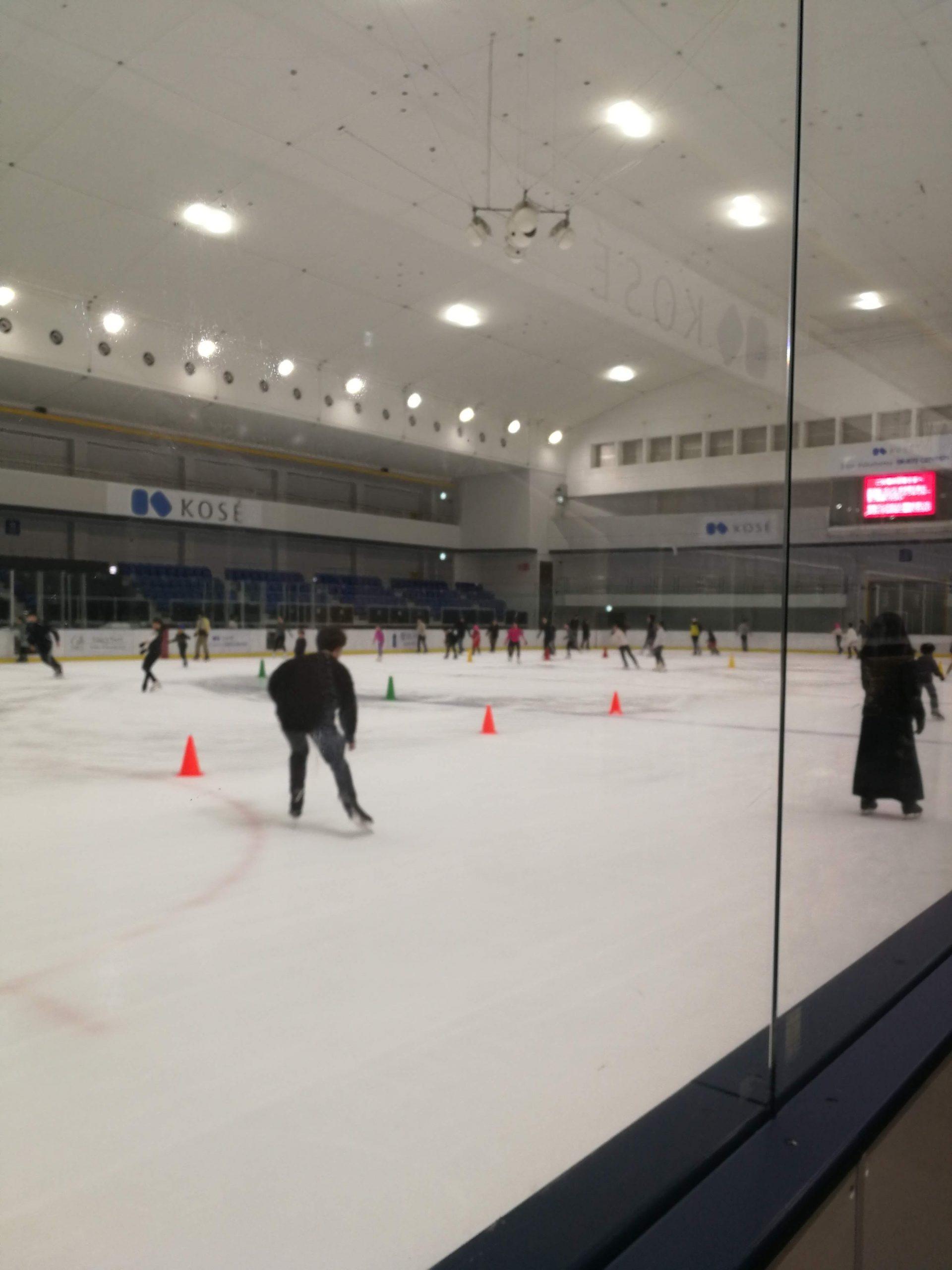 スケートしに行った